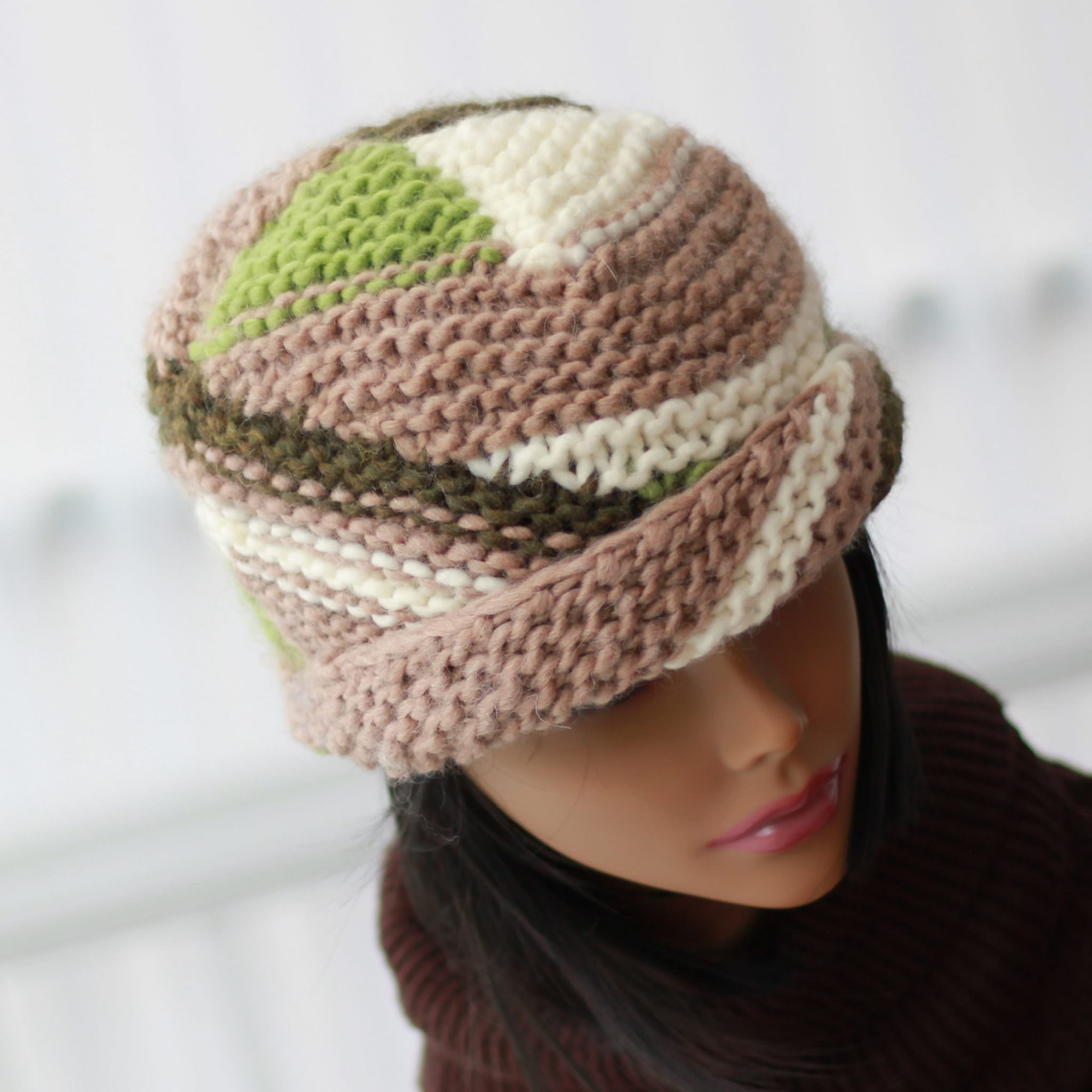 Knitting pattern, patron tricot - ALTERNATIVE - The Easy Design