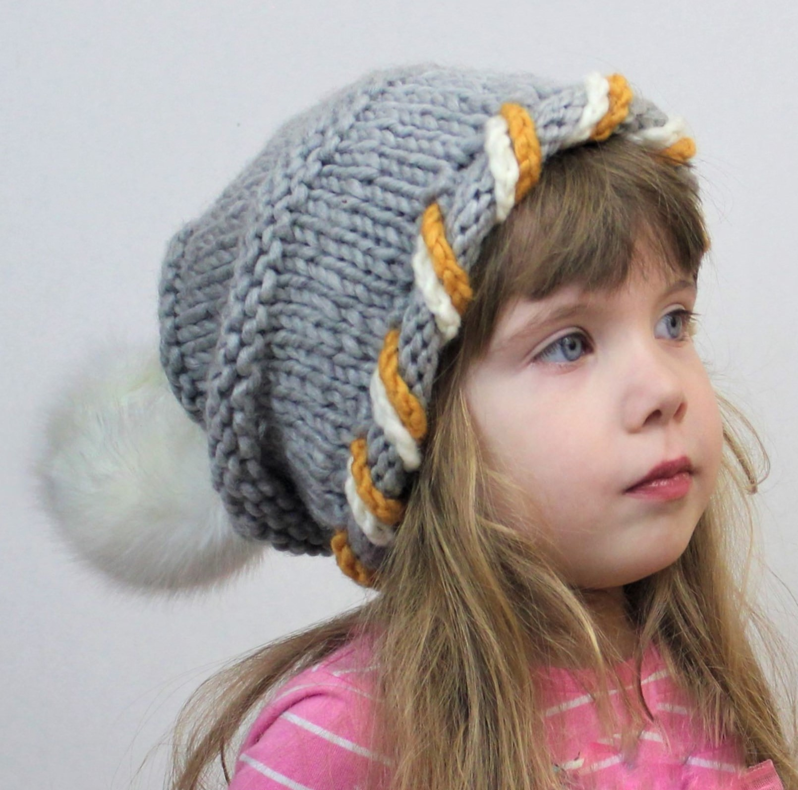 CORINE / SLOUCHY HAT – KNITTING PATTERN - The Easy Design
