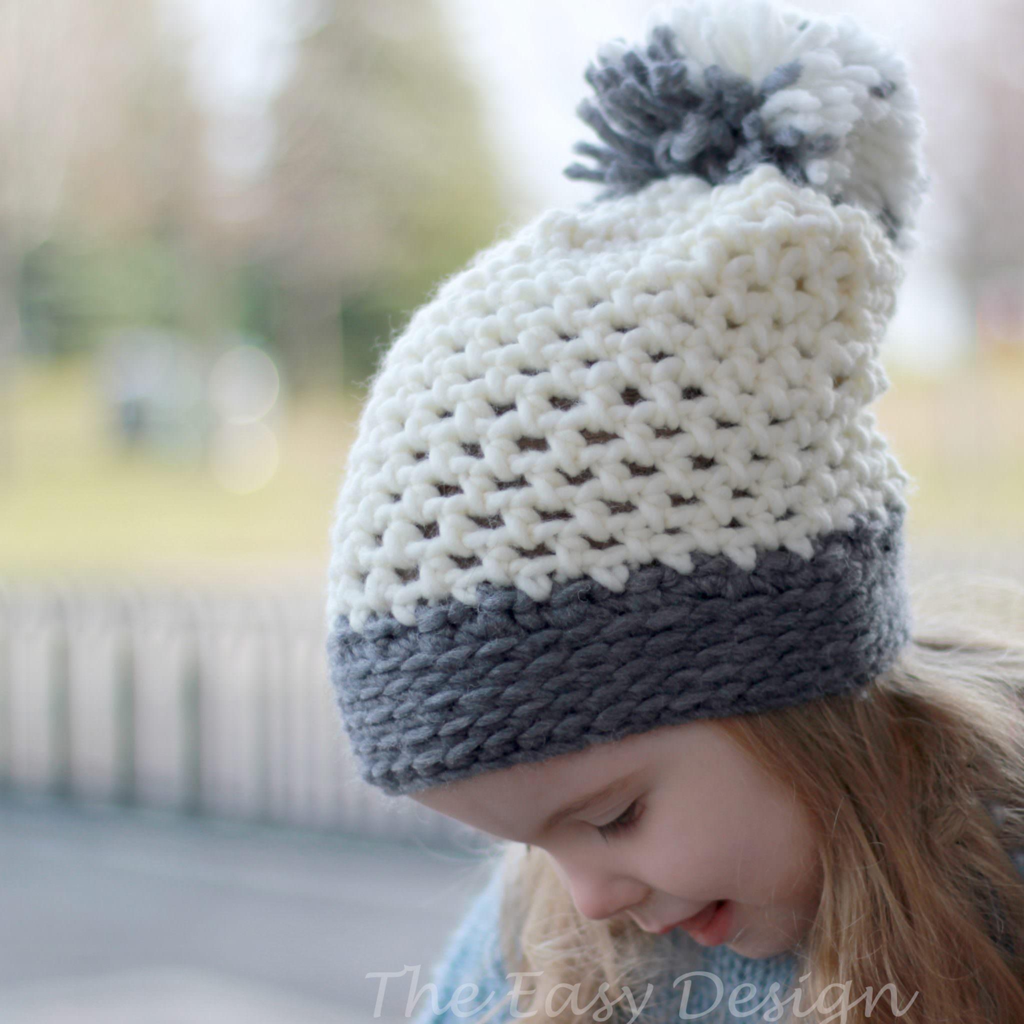 Joyce Hat Bonnet Crochet Pattern The Easy Design
