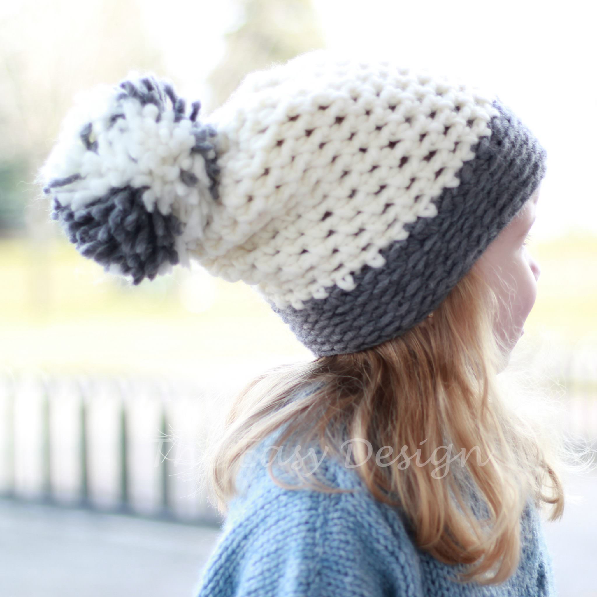 Joyce Hat / Bonnet - Crochet pattern - The Easy Design