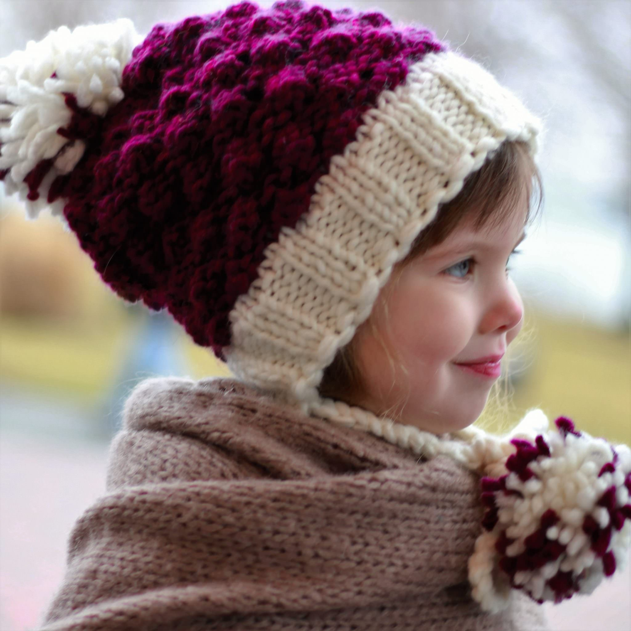 DOROTHY / EARFLAP HAT – KNITTING PATTERN - The Easy Design