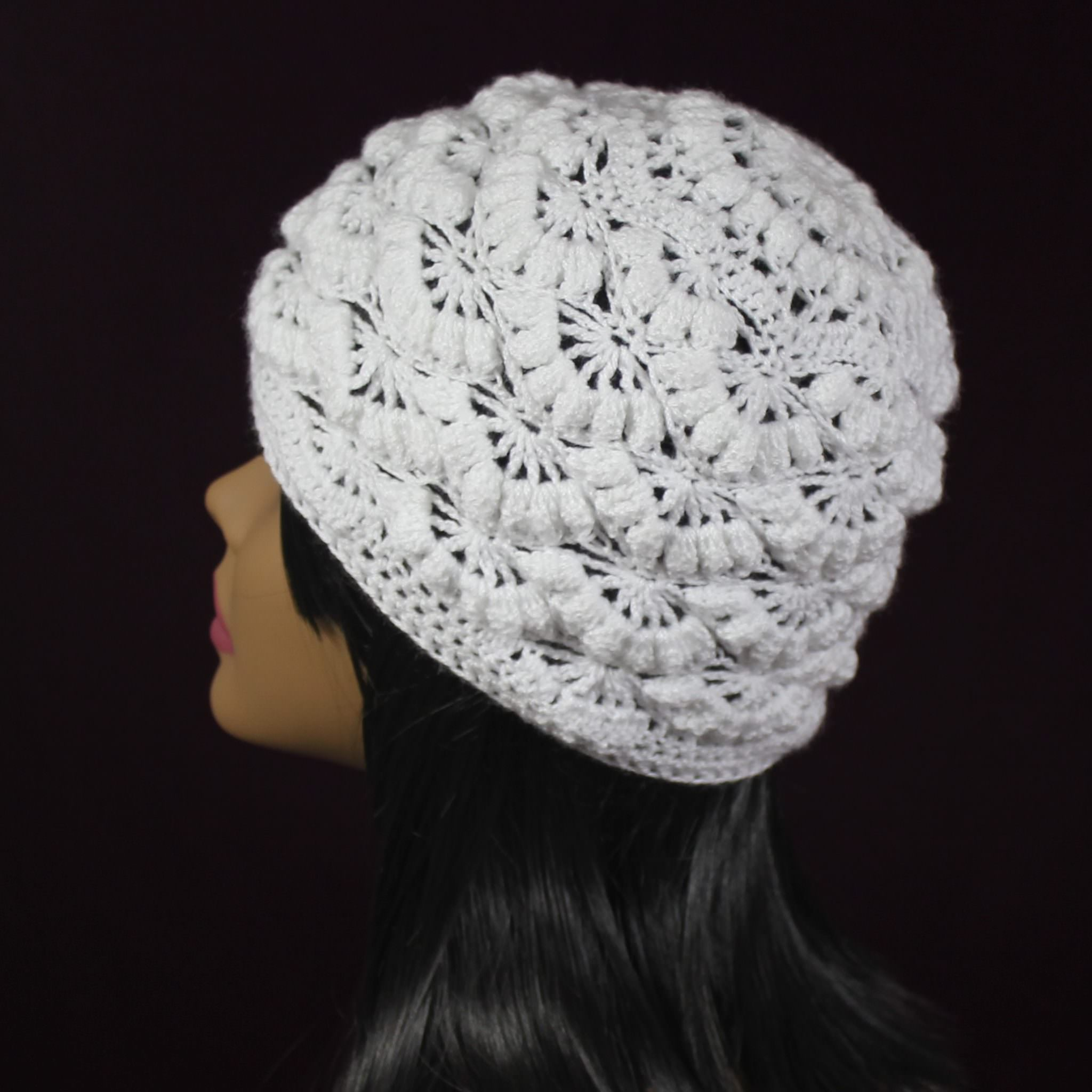 Iris Cloche Hat Crochet Pattern The Easy Design