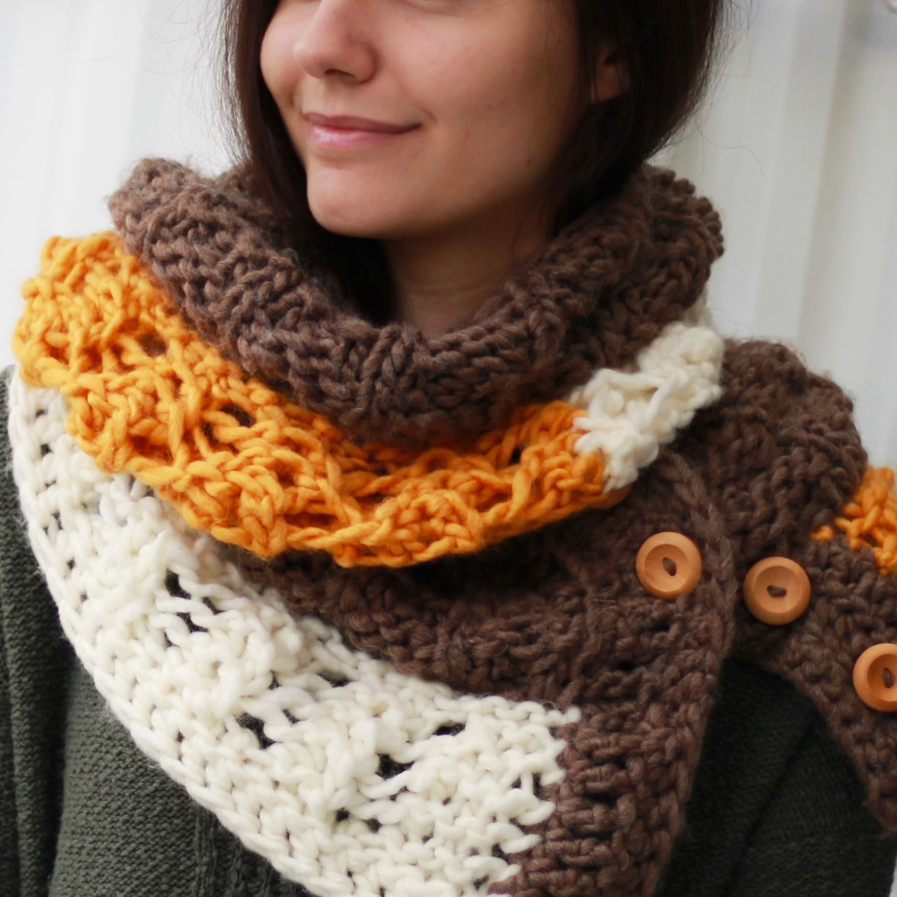 Melody Scarf Infinity Scarf Knitting Pattern The Easy Design