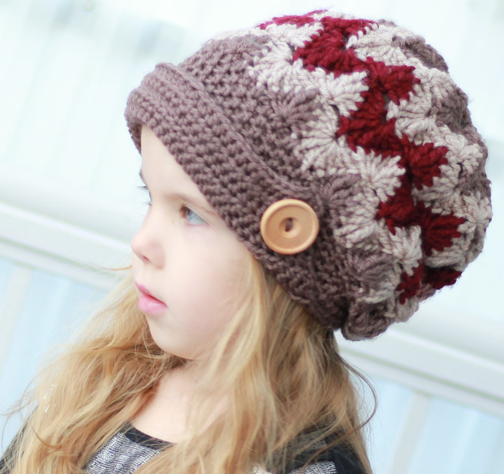 Louise Billed Hat Crochet Pattern The Easy Design