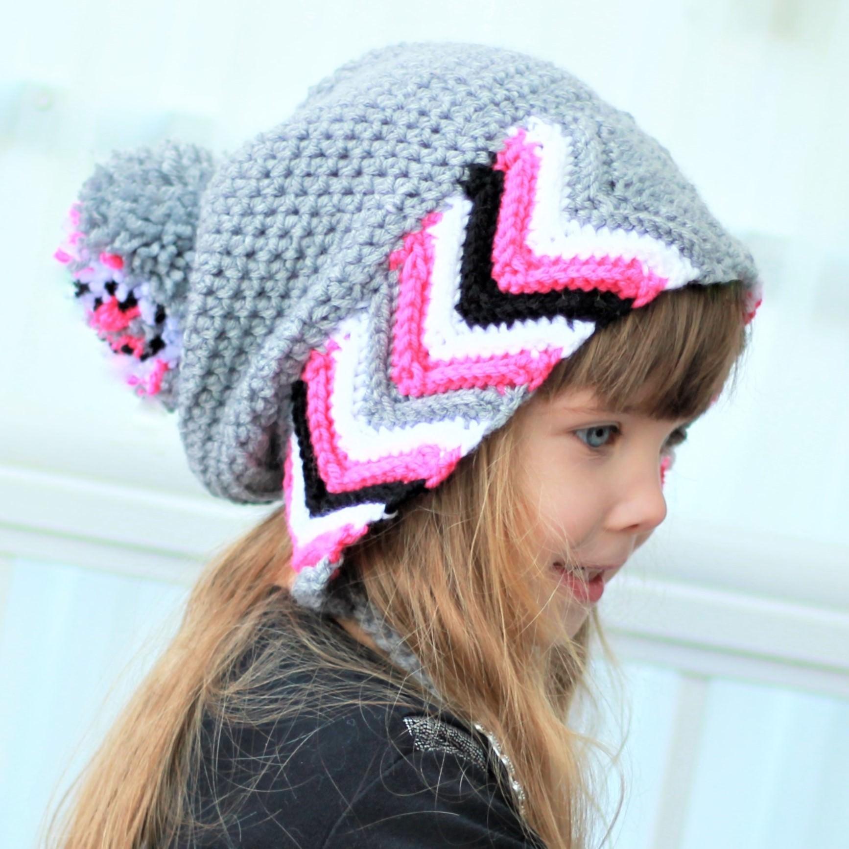 Haylee Earflap Hat Crochet Pattern The Easy Design