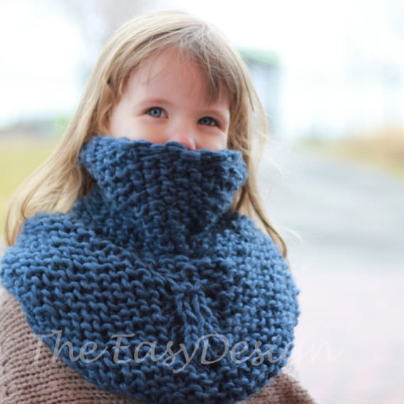 how to make a child size neck warmer