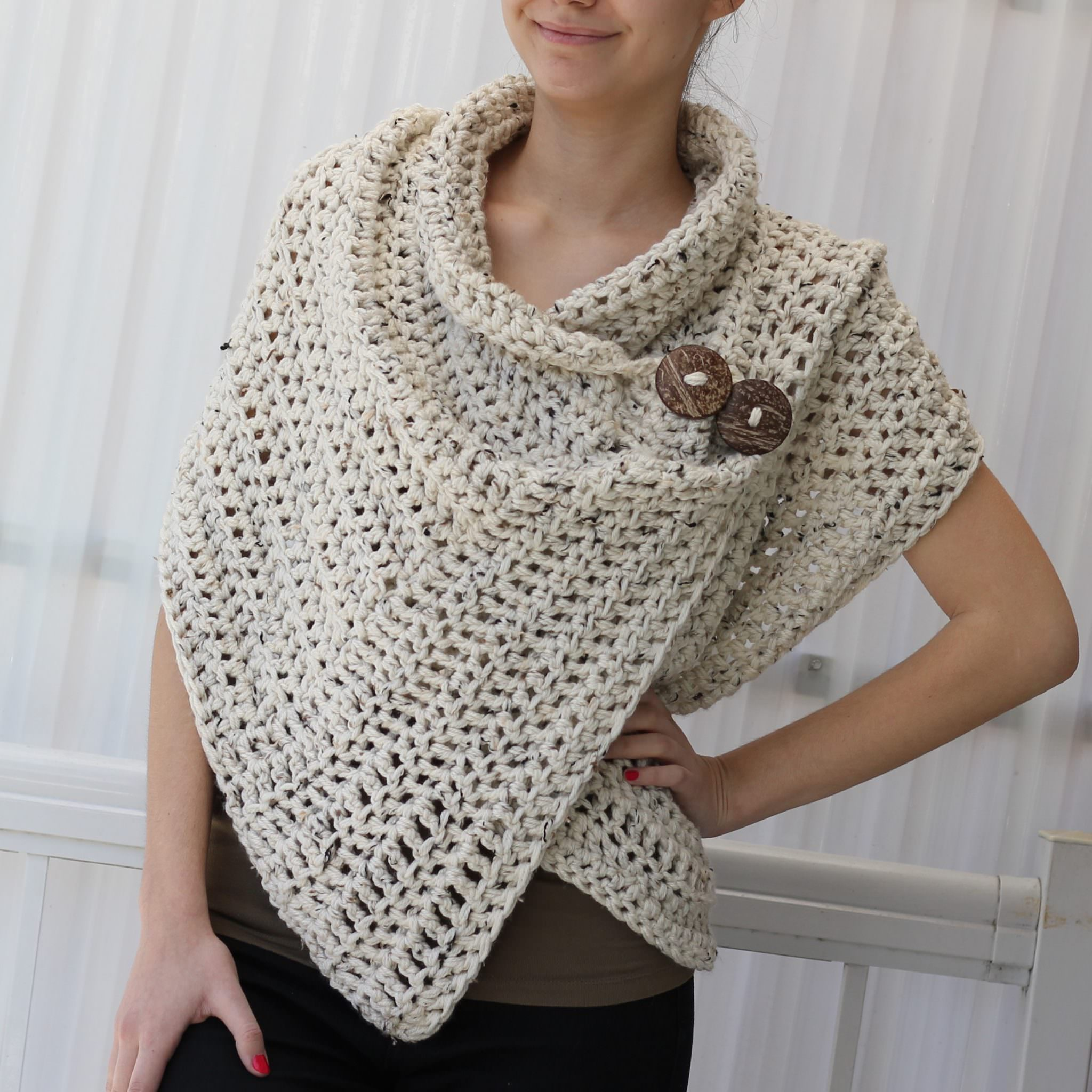 Azali Wrap Crochet Pattern The Easy Design