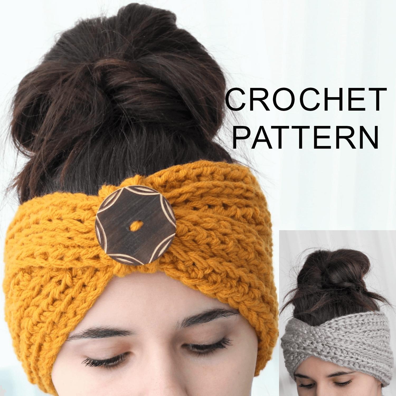 Tyra Headband Ear Warmer Crochet Pattern Pdf The Easy Design