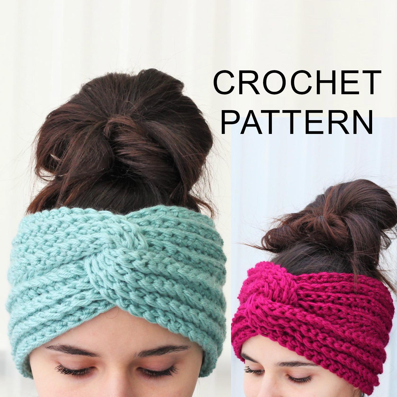 Hana Headband Ear Warmer Crochet Pattern Pdf The Easy Design