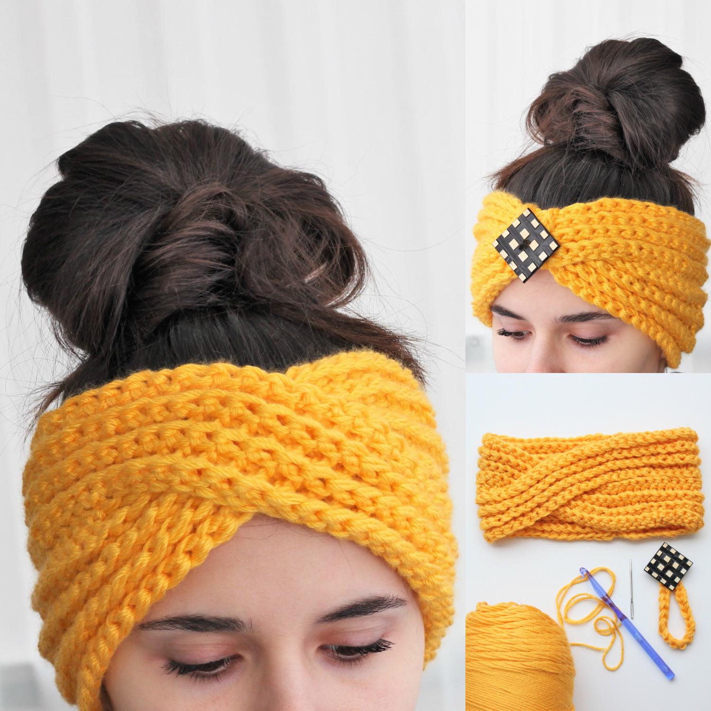 Luna Headband Ear Warmer Crochet Pattern Pdf The Easy Design
