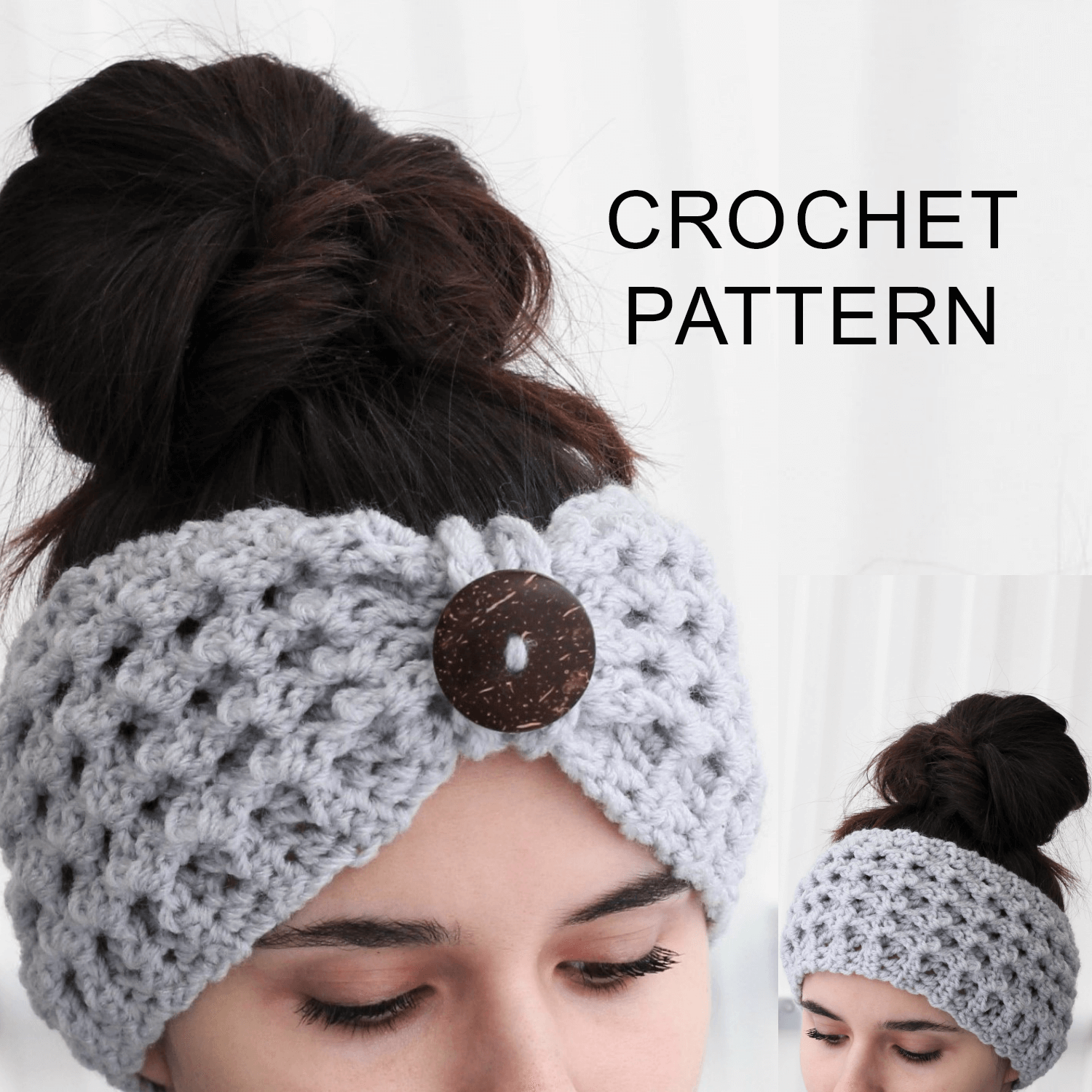 Lida Headband Ear Warmer Crochet Pattern Pdf The Easy Design