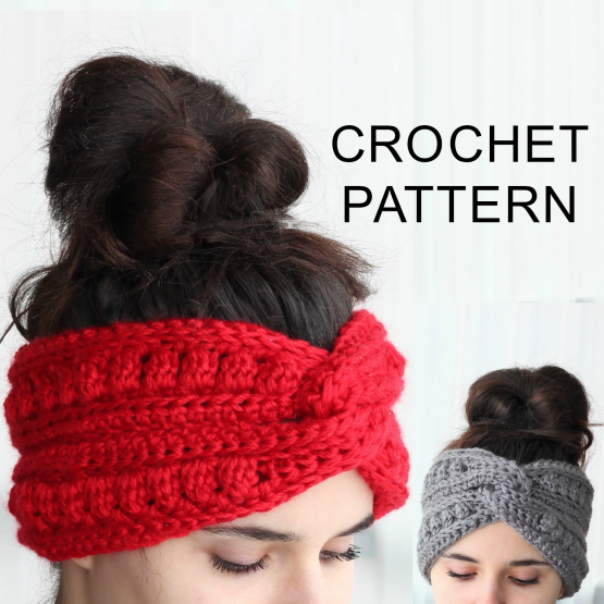 Aura Headband Ear Warmer Crochet Pattern Pdf