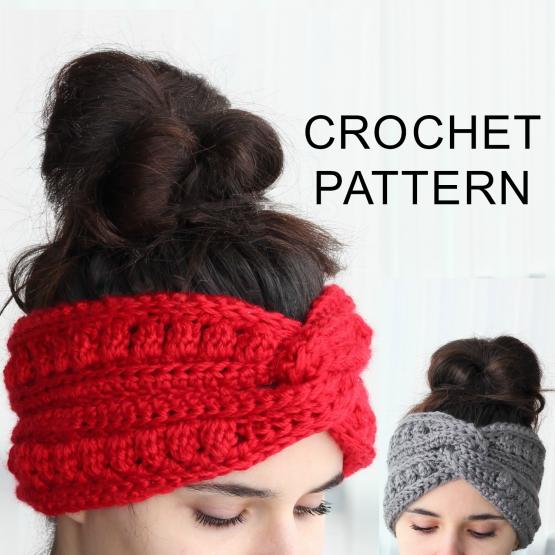 Aura Headband Ear Warmer Crochet Pattern Pdf The Easy Design